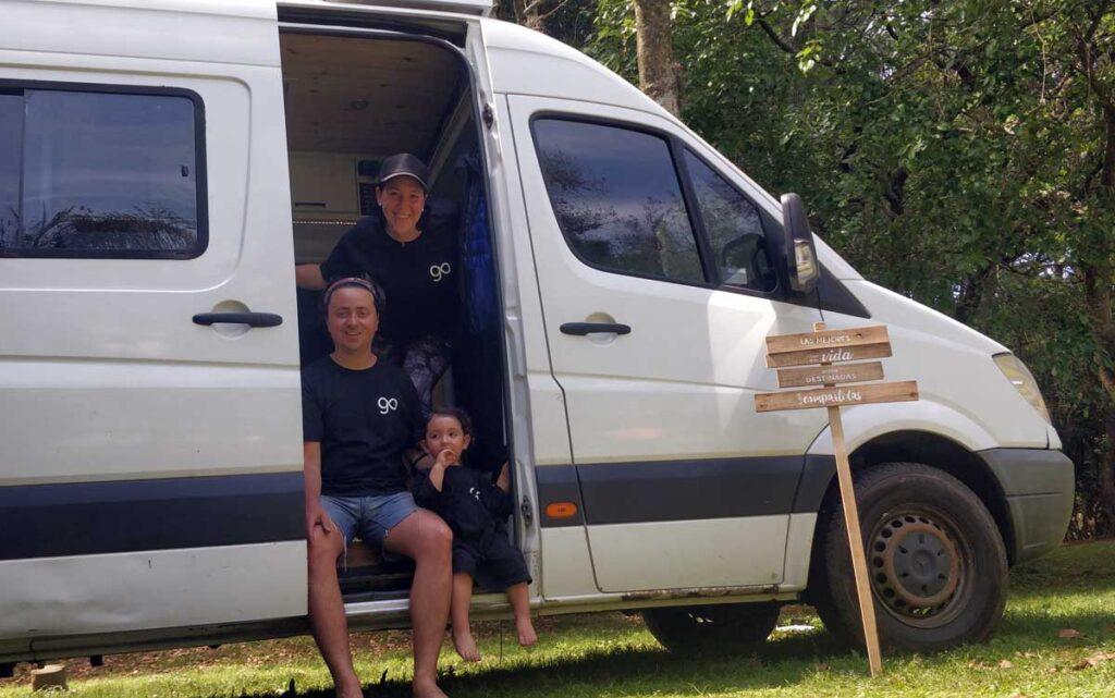 viajar en familia campervan